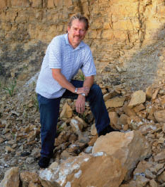 Jeff Cawlfield, professor of geological sciences and engineering