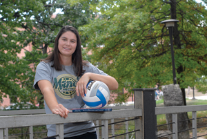 Lady Miner volleyball player named Academic All-American of the Year