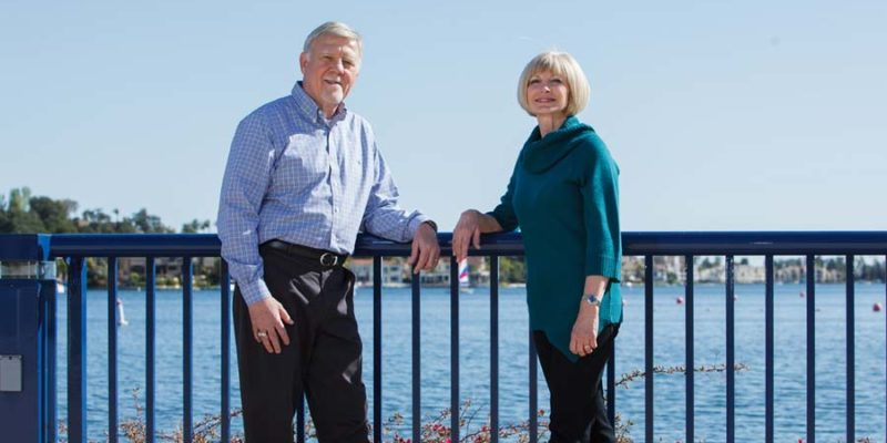 Hugh and Linda Cole: Silver and Gold Donors