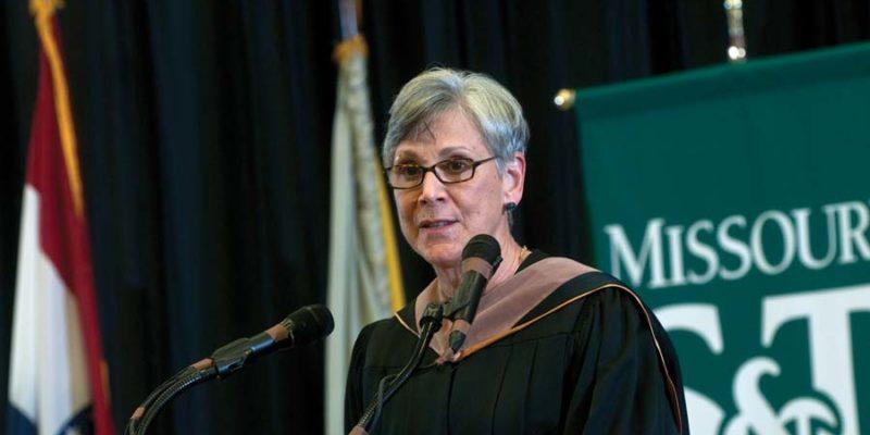 Krawitz receives Chancellor Medal