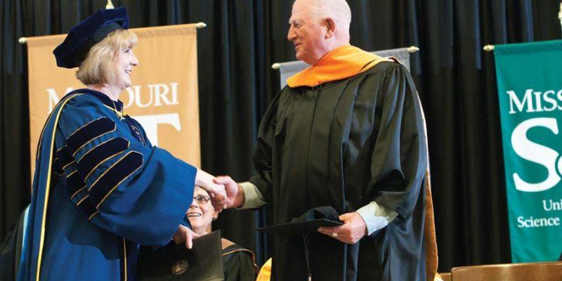 Havener receives honorary doctorate