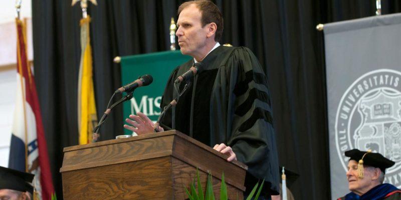 White tells grads: 'Follow your passion'