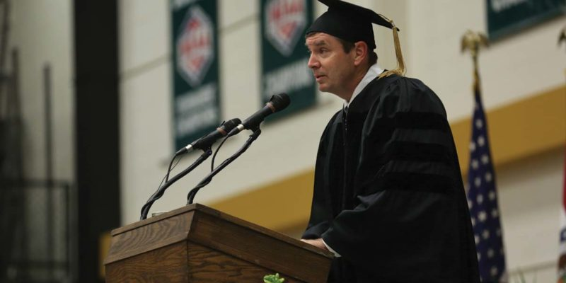 Steinhart tells grads: 'Listen and learn from your mistakes'