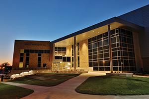 Bertelsmeyer Hall at sunset         Sam O'Keefe/Missouri S&T