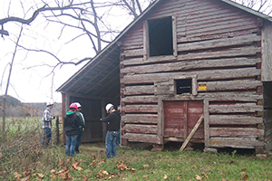 Missouri S&T students and alumni work to save a 150-year-old farm near Licking, Mo.