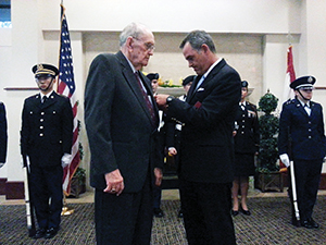 William Shaw Legion of Honor Ceremony