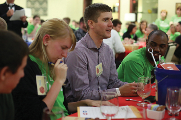 Battle of the Brains third annual trivia competition fundraiser the Hasselmann Alumni House on April 17, 2015.      Sam O'Keefe/Missouri S&T