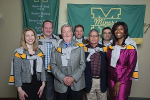 Honoring Miner legends