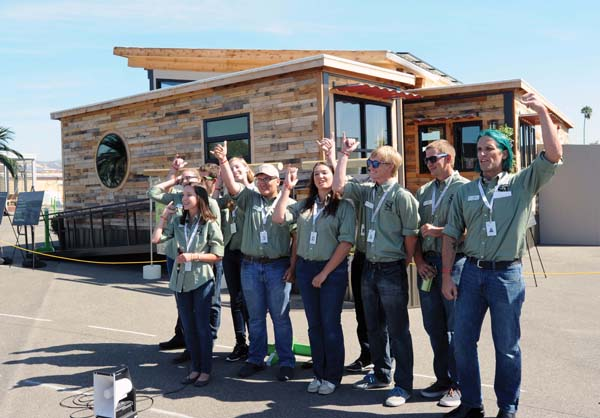 Day 10 of construction at the U.S. Department of Energy Solar Decathlon