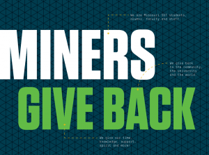 Miners give back
