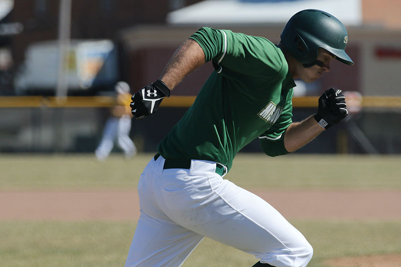 The Missouri S&T baseball team plays the University of Minnesota Crookston on Saturday, Feb. 27, 2016. Sam O'Keefe/Missouri S&T