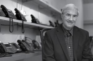 Roy Wilkens:Fiber optic frontiersman