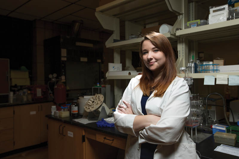 Alumna tackles women's health issues