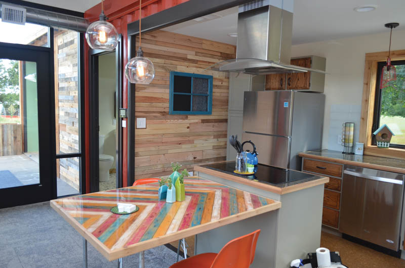 Solar house appears in Julia Child book