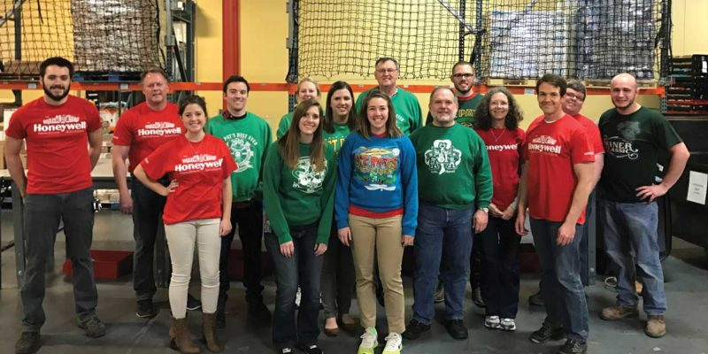 Alumni give back with Honeywell Harvesters
