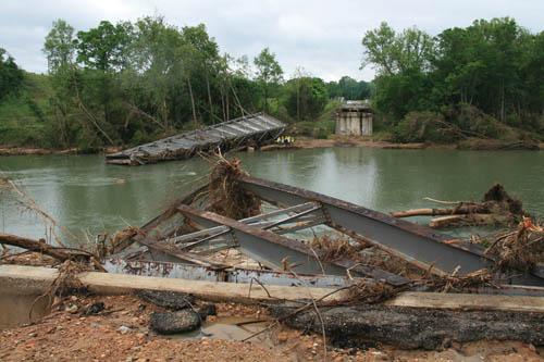 Lifesaving flood relief