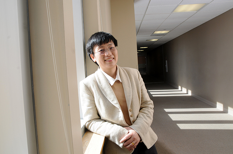 Zheng named Wilkens Professor