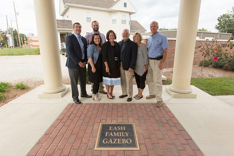 Eash Family Gazebo dedicated