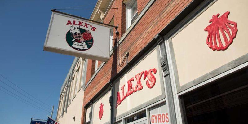 """Alex's Pizza, of course!"""