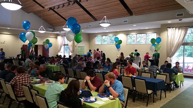 Alumni association celebrates grads