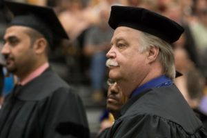 Rock-and-roll grandpa earns Ph.D.