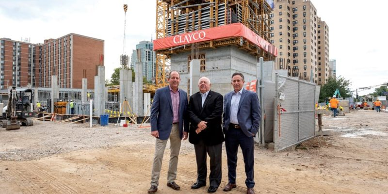 Keeping civil  in the family:  Bob, Steve and Tom Sieckhaus