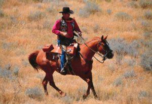 Bennington rides the Pony Express trail
