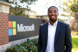 Landing a job at Microsoft