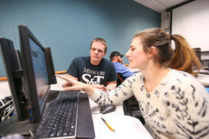 S&T students find a helping hand in Avery Welker