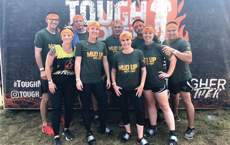Tough mudder Miners group photo