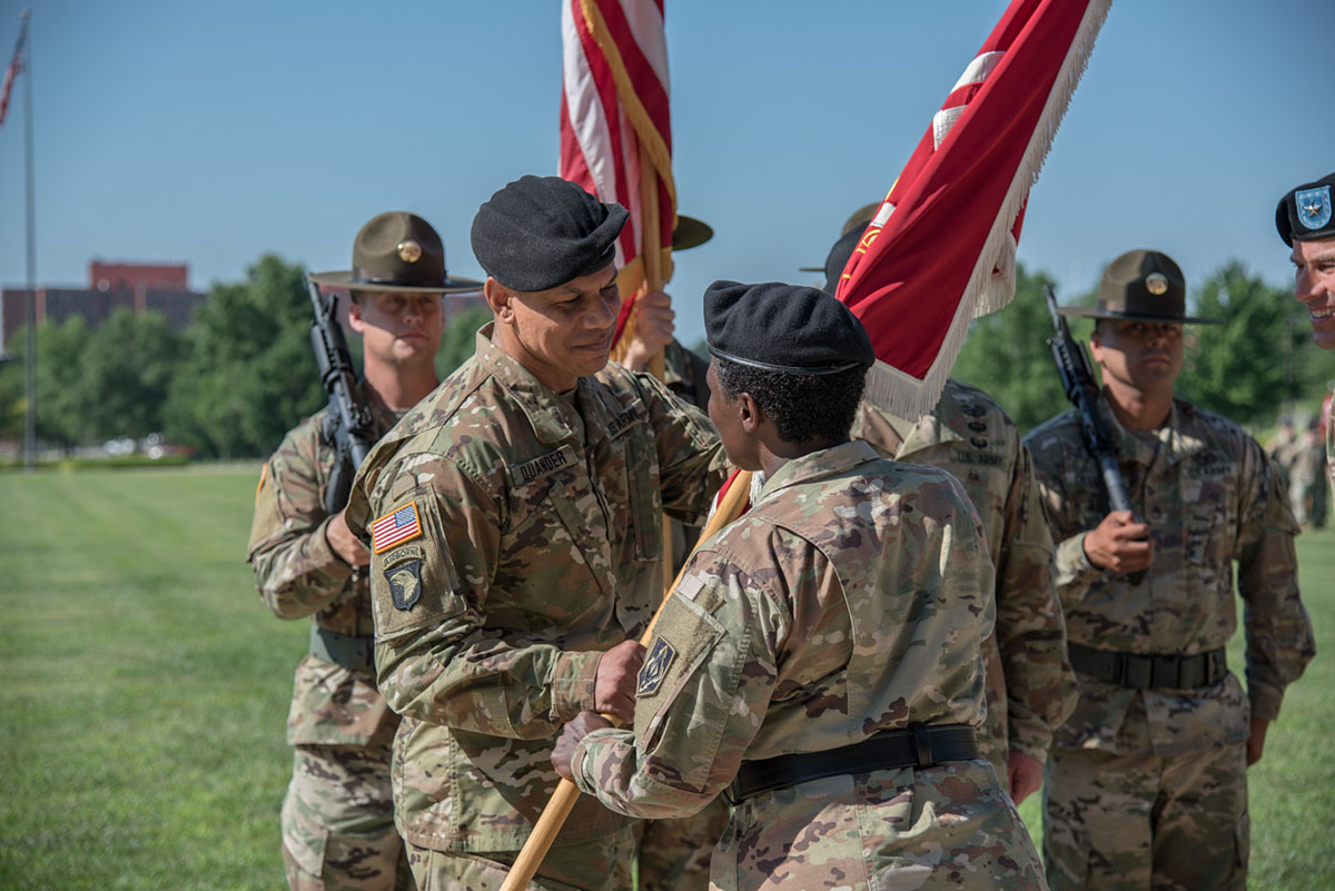 Quander takes command of U.S. Army Engineer School