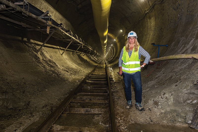 Nancy Matteoni: underground engineer